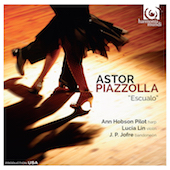 Album artwork for PIAZZOLLA. Escualo. Pilot/Lin/Jofre