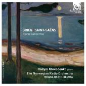 Album artwork for GRIEG.SAINT-SAENS. Piano Concertos. Kholodenko