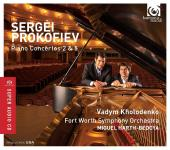 Album artwork for Prokofiev: Piano Concertos 2 & 5 / Kholodenko