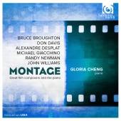 Album artwork for Montage - Great Film Composers & The Piano - Glori