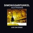 Album artwork for SIMON & GARFUNKEL - OLD FRIENDS LIVE ON STAGE