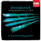 Album artwork for Shostakovich: Quartets no 3, 7, 8 / St Lawrence