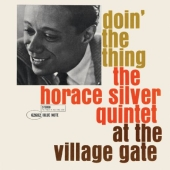 Album artwork for HORACE SILVER - DOIN' THE THING - AT THE VILLAGE