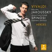 Album artwork for Vivaldi: Heroes Philippe Jaroussky