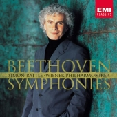 Album artwork for Beethoven Complete Symphonies / Rattle