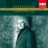 Album artwork for Beethoven SYMPHONIES 1 & 3 Rattle