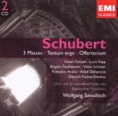 Album artwork for Schubert: 3 Masses / Tantum Ergo / Offertorium