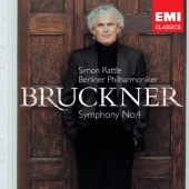 Album artwork for Bruckner: Symphony no 4 / Simon Rattle