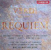 Album artwork for VERDI: REQUIEM