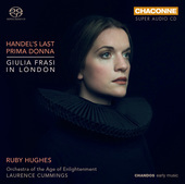 Album artwork for Handel's Last Prima Donna: Giulia Frasi in London