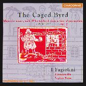 Album artwork for William Byrd: The Caged Byrd