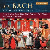 Album artwork for Bach: LUTHERAN MASSES, VOL. 1