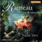Album artwork for Rameau: PIECES DE CLAVECIN / Yates