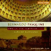 Album artwork for PASQUINI: SONATE PER GRAVICEMBALO