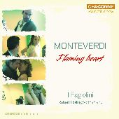 Album artwork for MONTEVERDI - FLAMING HEART