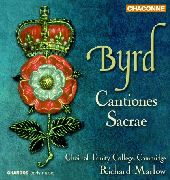Album artwork for BYRD - CANTIONES SACRAE
