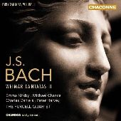 Album artwork for Bach: Early Cantatas vol. 3 Weimar Cantatas #2