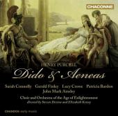 Album artwork for Purcell: Dido & Aeneas (Connolly, Finley)