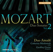 Album artwork for Mozart: Duo Sonatas Vol.2 (Duo Amade)