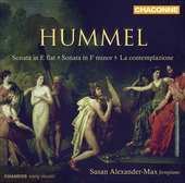 Album artwork for Hummel: Fortepiano Sonatas / Alexander-Max