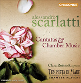 Album artwork for A. Scarlatti: Cantatas & Chamber Music