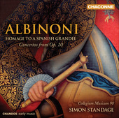 Album artwork for Albinoni: Concertos from Op. 10 (Standage)