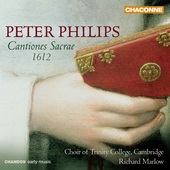 Album artwork for Peter Philips: Cantiones Sacrae 1612