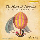 Album artwork for The Heart of Invention: Haydn Piano Trios / Goya