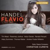 Album artwork for Handel: Flavio, Re de' Longobardi / Curnyn, Mead