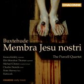 Album artwork for Buxtehude: Membra Jesu nostri / Kirkby, Fretwork