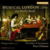 Album artwork for Musical London, c. 1700: From Purcell to Handel
