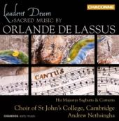 Album artwork for Laudent Deum: Sacred Music by Orlande de Lassus