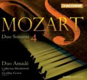 Album artwork for Mozart: Duo Sonatas, Vol. 4