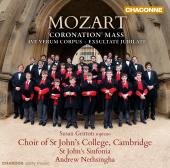 Album artwork for Mozart: Coronation Mass K.317, Ave Verum Corpus