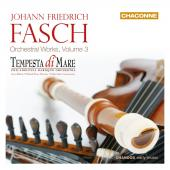 Album artwork for Fasch: Orchestral Works Vol. 3