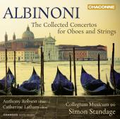 Album artwork for Albinoni: The Collected Concertos for Oboes and St