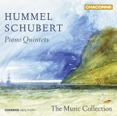 Album artwork for Schubert / Hummel: PIANO QUINTETS