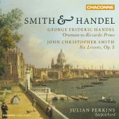 Album artwork for SMITH & HANDEL: HARPSICHORD MUSIC