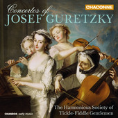 Album artwork for Guretzky: Concertos