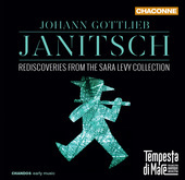 Album artwork for Janitsch: Rediscoveries from the Sara Levy Collect