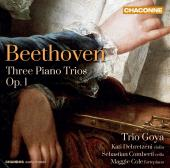 Album artwork for Beethoven: Piano Trios Nos. 1-3