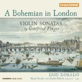 Album artwork for A Bohemian in London - Violin Sonatas by G. Finger