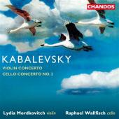 Album artwork for Kabalevsky: Violin Concerto, Cello Concerto No. 2