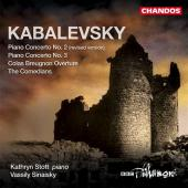 Album artwork for Kabalevsky: Piano Concertos 2 & 3 (Stott)