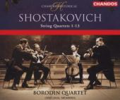 Album artwork for Shostakovich: String Quartets no 1-13 / Borodin