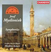 Album artwork for MYSLIVECEK - SYMPHONIES
