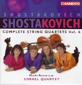 Album artwork for Shostakovich: COMPLETE STRING QUARTETS vol.6