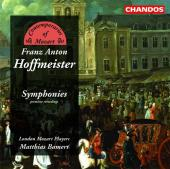 Album artwork for Hoffmeister: Symphonies / Bamert, London Mozart Pl