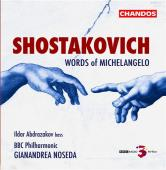 Album artwork for Shostakovich: WORKS OF MICHELANGELO