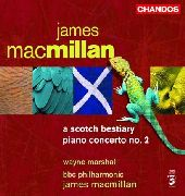 Album artwork for MacMillan: A Scottish Bestiary, Piano Concerto (Ma
